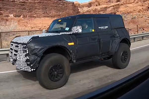 Ford Bronco Warthog Spied With Wider Body