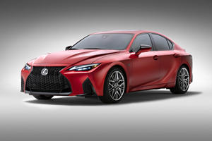 All-New 2022 Lexus IS 500 F Sport Performance Gets V8 Power