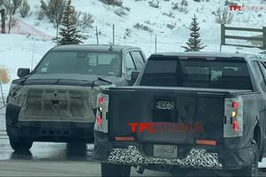 2022 Chevy Silverado Caught In The Wild