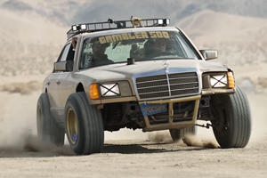 Wrecked Mercedes S-Class Transformed Into Rally Warrior