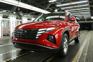 Hyundai's Bold New Tucson Enters Production