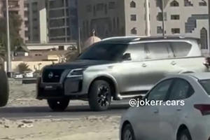 Hardcore 2021 Nissan Patrol Nismo Spied Completely Naked