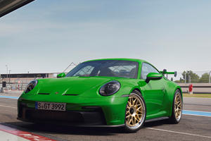 New 911 GT3 Looks Glorious On Retro Wheels