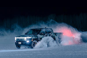 Rivian R1T Hits The Snow Ahead Of Production