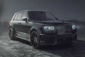 Rolls-Royce Cullinan Black Badge Gets The Widebody Treatment