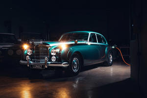 Behold The World's First Fully Electric Bentley