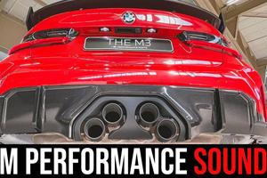 2021 BMW M3's M Performance Exhaust Sounds Horrible