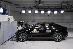 The Polestar 2 Bosses Crash Tests In Europe