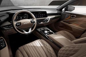 Take A Look Inside The Kia K8's Swanky Interior