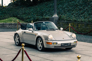 "This ""Turbo-Look"" 911 Cabriolet Was Touched By The Hand Of God"