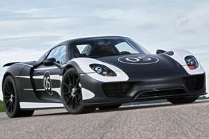 Top 5 Porsche Supercars