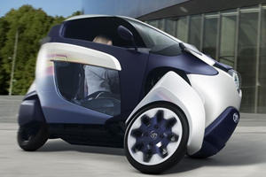 Toyota Leans In with i-Road Concept