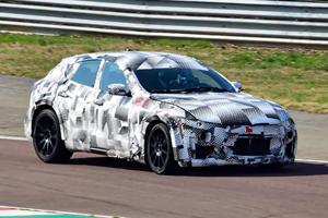 Watch A Ferrari Purosangue Prototype Go Powersliding