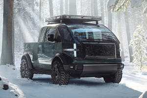 Canoo's All-Electric Cybertruck Rival Is A Multitool On Wheels