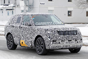 2022 Range Rover Shows Off Its New Grille