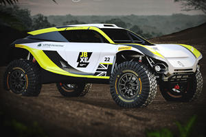 Lotus Builds Electric Offroad Racer