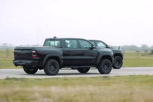 Watch A Ram 1500 TRX Get Obliterated In A Drag Race