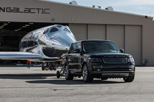 This Special Range Rover Can Tow A Spaceship