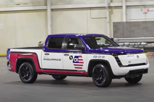 First Lordstown Endurance Pickups Roll Off The Line