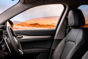 The Alfa Romeo Stelvio Now Comes With Filtered Windows