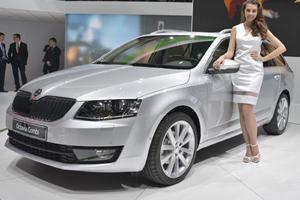 Skoda Debuts New Octavia Combi