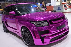 Hamann Pimps Range Rover in Pink
