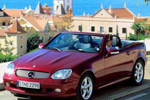 Almost Sports Cars: Mercedes-Benz SLK