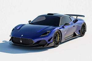 New Body Kit For The Maserati MC20 Limited To 25 Units