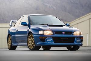 Bidding War Erupts For Ultra-Rare Subaru Impreza 22B STi
