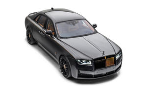 Mansory Gives Rolls-Royce Ghost The Golden Touch