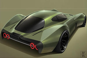 Toyota Designer Shows Us What The Electric Corvette Should Look Like