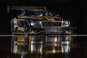 The Bentley Continental GT Pikes Peak Racer Looks Insane