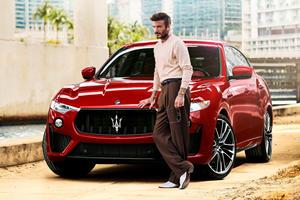 Watch David Beckham Do Donuts In A Maserati