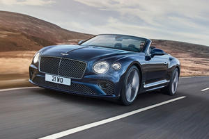 2022 Bentley Continental GT Speed Convertible Breaks Cover With 650 HP