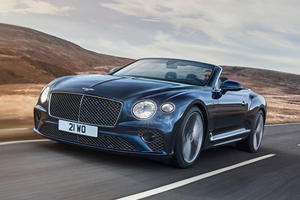 2022 Bentley Continental GT Speed Convertible First Look Review: Topless Thrills