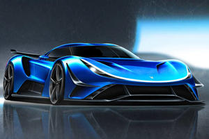 New Carmaker Reveals 2,299-HP Electric Hypercar