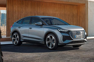 2022 Audi Q4 Sportback e-tron First Look Review: Flashy Electric Family Car