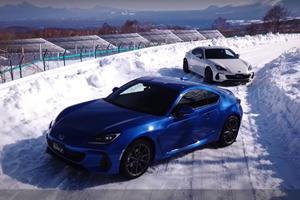 Watch The New Subaru BRZ Go Sideways In The Snow