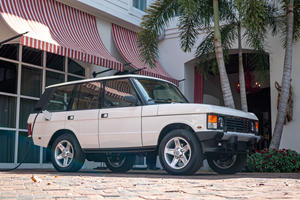 Driving The World's First All-Electric Range Rover