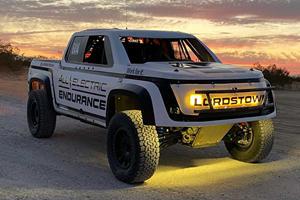 Lordstown Motors Reveals Crazy Race Truck