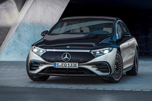2022 Mercedes-Benz EQS First Look Review: Luxury Goes Electric