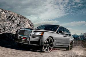 Rolls-Royce Seraph To Return As Baby Cullinan?