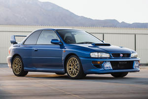 This 20-Year-Old Subaru Impreza Just Sold For Over $300,000