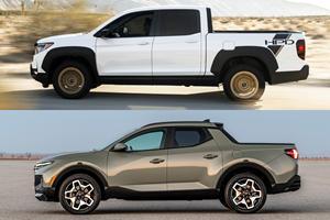 Honda Ridgeline Vs. Hyundai Santa Cruz: Baby Truck Battle