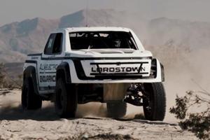 Lordstown Motors Quits Desert Race After 40 Miles
