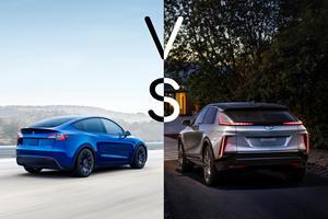 Electric SUVs: Cadillac Lyriq Vs. Tesla Model Y