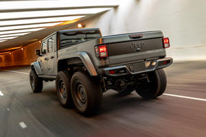 Jeep Gladiator 6x6 Unveiled With $145,000 Price Tag