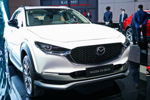 Mazda's Second EV Is An Electric CX-30