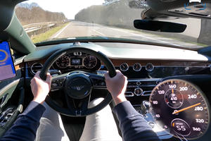 Watch A Bentley Flying Spur V8 Hit 174 MPH On The Autobahn
