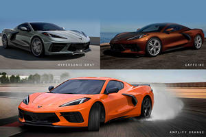 Chevy Reveals Three New Colors For 2022 Corvette